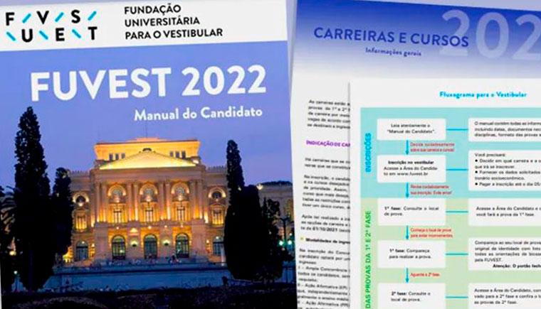 Candidatos ao vestibular 2022 da USP podem consultar manual da Fuvest