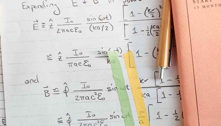 Pós-graduação: inscrições abertas para mestrado em Matemática