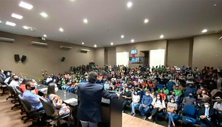 Instalação da UEMS em Sidrolândia começará com pós e cursos à distância, diz Gerson Claro